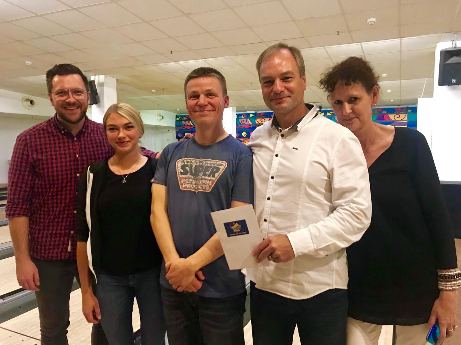 Siegerteam Quizbowling 05.11.2018
