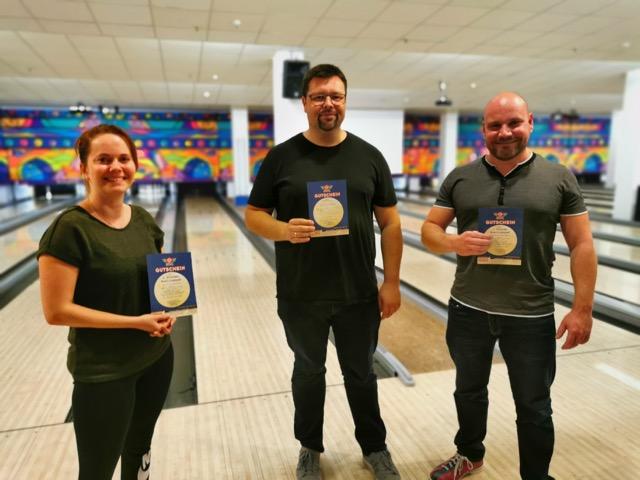 Siegerteams gestriges Quizbowling